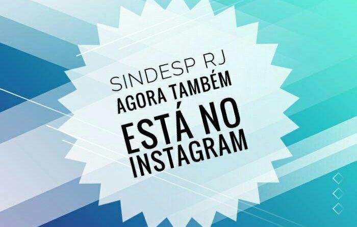 O Sindesp-RJ agora também no Instagram.