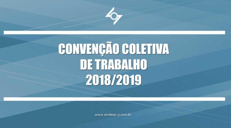 CONVENÇÃO COLETIVA DE TRABALHO 2018/2019