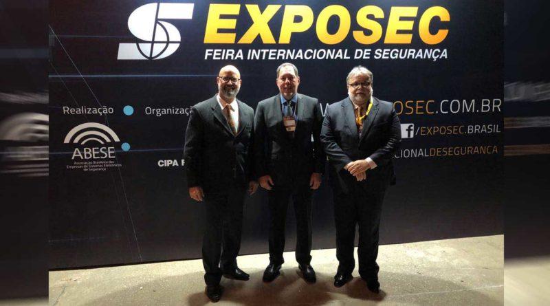 Sindesp-RJ na EXPOSEC – Feira Internacional de Segurança