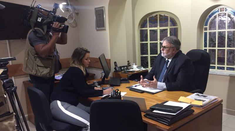 Matéria SBT Brasil sobre a criação da Política Estadual de Controle de Armas.