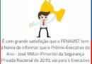 Nosso diretor executivo, Mário Martins Filho, foi escolhido o Melhor Executivo do Ano de 2019