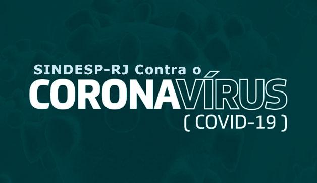 SINDESP-RJ Contra o Coronavírus