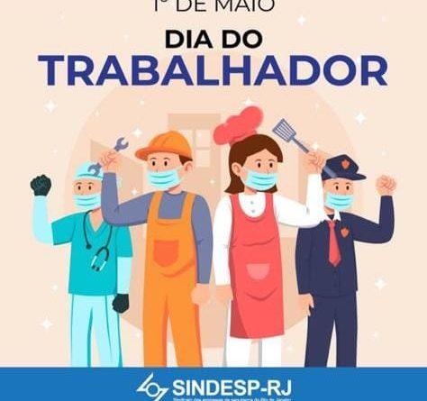 1 de maio. Dia do trabalhador